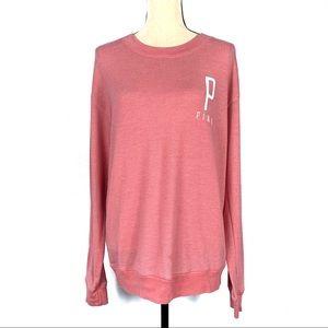 PINK Victoria's Secret Pink Logo Sweater EUC